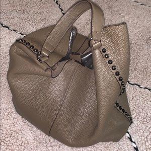 Rebecca Minkoff Taupe Hobo handbag